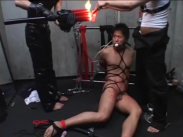 Japanese gay bondage